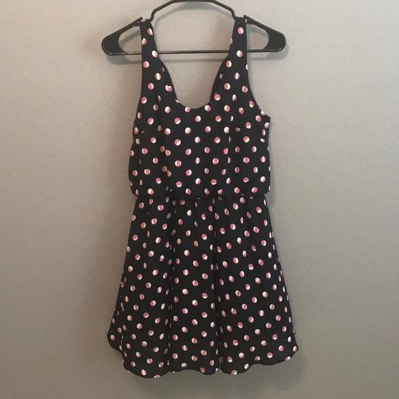 Lush Dresses & Skirts - Lush Polka Dot Dress